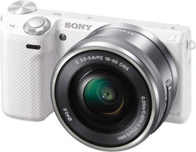 Беззеркальный фотоаппарат Sony Alpha NEX-5TYW - общий вид