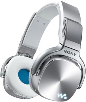 Наушники-плеер Sony NWZ-WH505 (серебристый) - общий вид