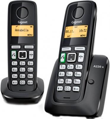 Беспроводной телефон Gigaset A220A Duo - общий вид