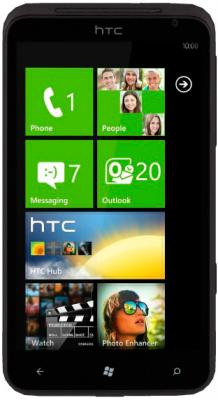 Смартфон HTC Titan X310e (Black) - общий вид