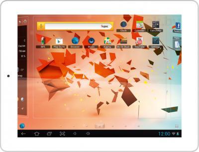 Планшет TeXet TM-9750HD (16GB, White-Silver) - общий вид