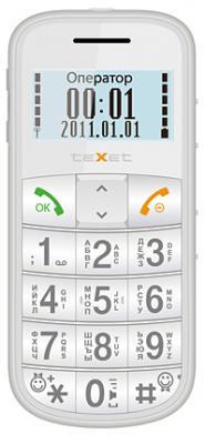 Мобильный телефон TeXet TM-B110 (Pearl) - общий вид