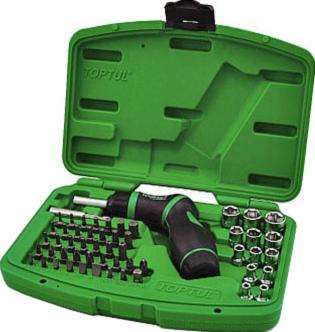 Универсальный набор инструментов Toptul GAAI5401 (54 предмета) - общий вид