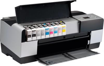 Принтер Epson Stylus Pro 3880 - вид изнутри