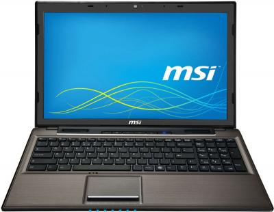 Ноутбук MSI CR61 0M-809XZA (Bronze) - фронтальный вид
