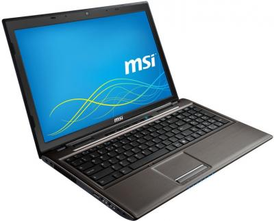 Ноутбук MSI CR61 0M-809XZA (Bronze) - общий вид