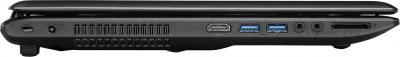 Ноутбук MSI CX70 2OD-034XBY (Black) - вид сбоку