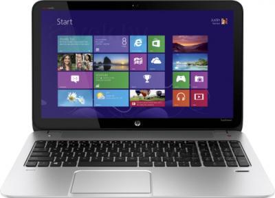 Ноутбук HP ENVY 15-j011sr (F0F10EA) - фронтальный вид
