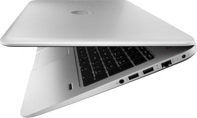 Ноутбук HP ENVY 15-j011sr (F0F10EA) - вид сбоку