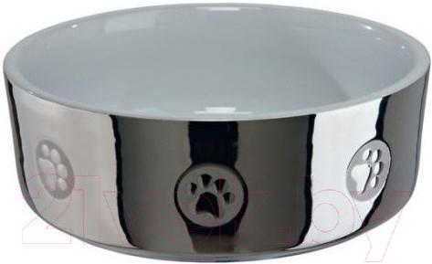 Миска для животных Trixie 25083, цвет нерж