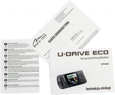 Автомобильный видеорегистратор Media-Tech MT4041 - документация