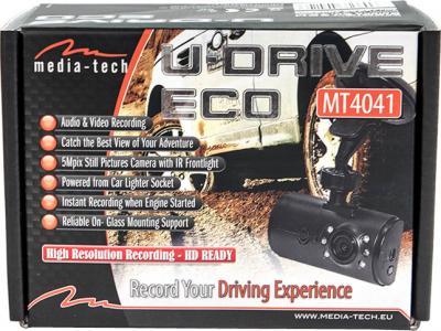 Автомобильный видеорегистратор Media-Tech MT4041 - коробка