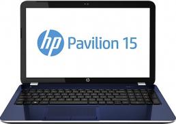 Ноутбук HP Pavilion 15-e088er (E5U43EA) - фронтальный вид
