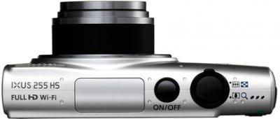 Компактный фотоаппарат Canon IXUS 225 HS (Silver) - вид сверху