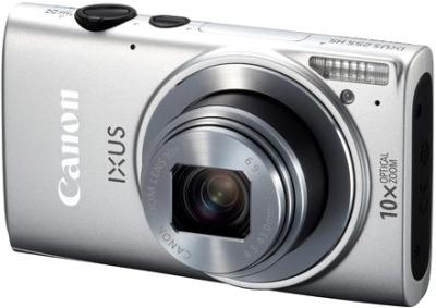 Компактный фотоаппарат Canon IXUS 225 HS (Silver) - общий вид