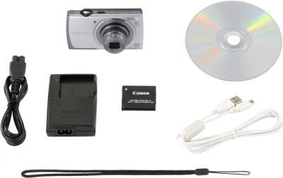 Компактный фотоаппарат Canon PowerShot A3500 (серебристый) - комплектация