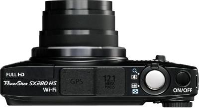 Компактный фотоаппарат Canon PowerShot SX280 HS - вид сверху