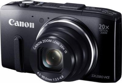 Компактный фотоаппарат Canon PowerShot SX280 HS - общий вид