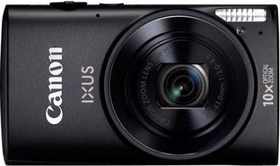 Компактный фотоаппарат Canon IXUS 225 HS (Black) - общий вид