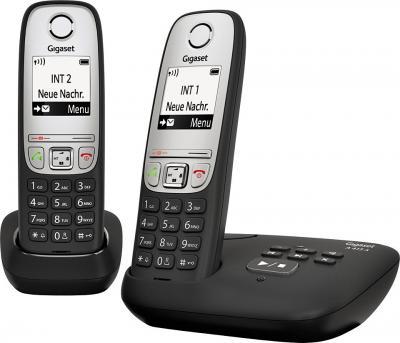 Беспроводной телефон Gigaset A415A Duo (Black) - общий вид