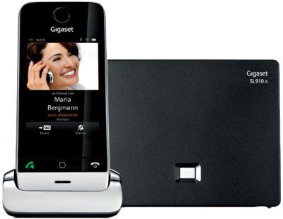 Беспроводной телефон Gigaset SL910A (Black) - с автоответчиком