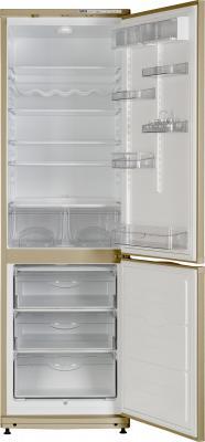 Холодильник с морозильником ATLANT ХМ 6024-050 (Beige) - внутри