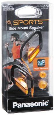 Наушники Panasonic RP-HS200E-D (Orange) - в упаковке