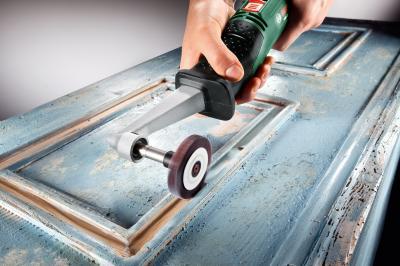 Валиковая шлифовальная машина Bosch PRR 250 ES (0.603.3B5.020) - в работе