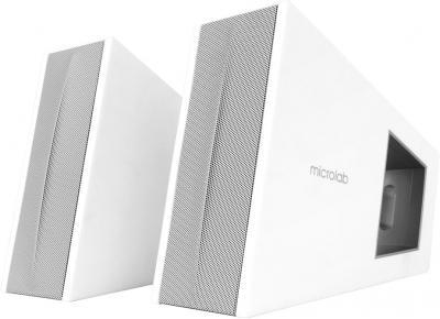 Мультимедиа акустика Microlab FC-10 (White) - общий вид