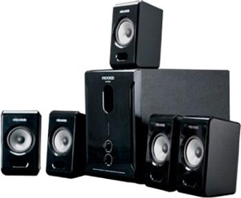 Мультимедиа акустика Microlab M-500 II (Black) - общий вид