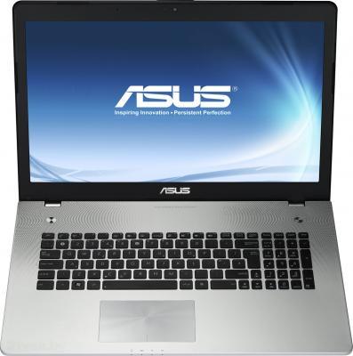 Ноутбук Asus N76VB-T4150D - фронтальный вид