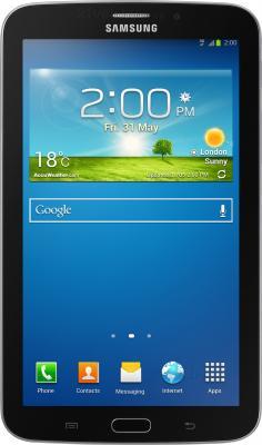 Планшет Samsung Galaxy Tab 3 7.0 8GB 3G Black SM-T211 (SM-T2110MKASER) - фронтальный вид