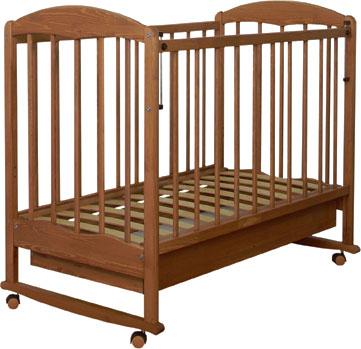 Детская кроватка СКВ 111116 (бук) - общий вид