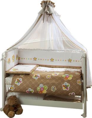 Комплект в кроватку Perina Тиффани Т7-02.0 (Цветы) - общий вид