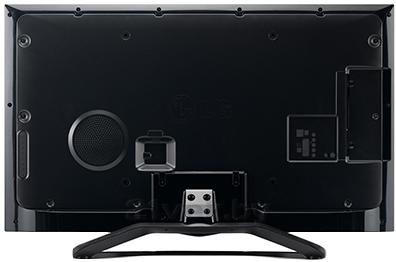 Телевизор LG 42LA662V - вид сзади