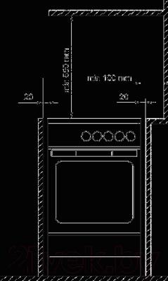 Кухонная плита Gorenje EC67CLB