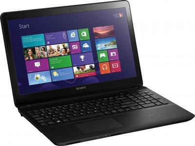 Ноутбук Sony VAIO SVF1521D1RB - общий вид