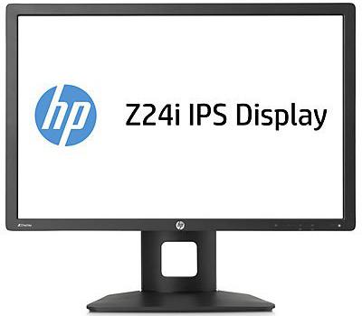 Монитор HP Z24i - фронтальный вид