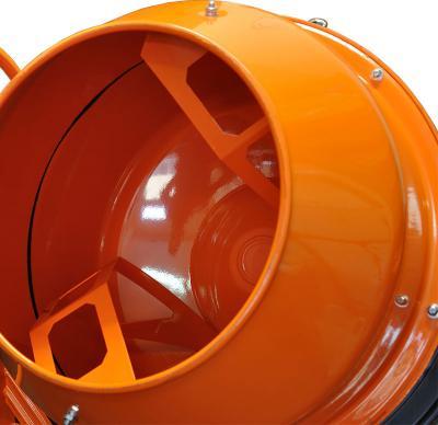 Бетономешалка Skiper CM-190 - барабан с лопастями