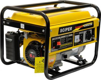 Бензиновый генератор Skiper LT3600B - общий вид