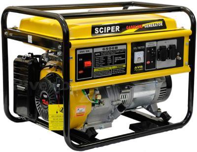 Бензиновый генератор Skiper LT 6500 B - общий вид