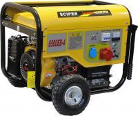Бензиновый генератор Skiper LT6500EB-4 -