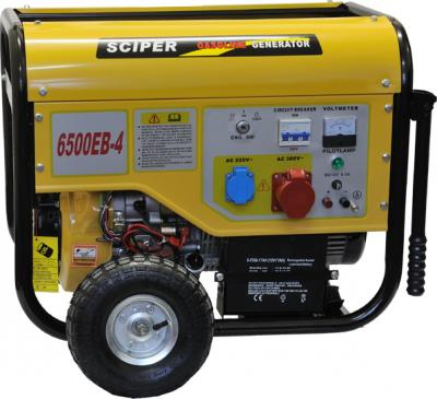 Бензиновый генератор Skiper LT6500EB-4 - общий вид