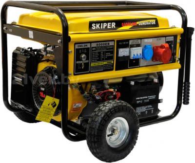 Бензиновый генератор Skiper LT 8000 EB - общий вид