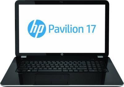 Ноутбук HP Pavilion 17-e004er (E0Z34EA) - фронтальный вид