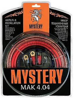 Набор для подключения автоакустики Mystery MAK 4.04 - общий вид в упаковке