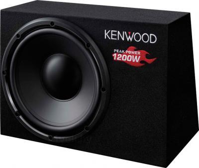 Корпусной пассивный сабвуфер Kenwood KSC-W1200B - общий вид