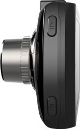 Автомобильный видеорегистратор TeXet DVR-561G - вид сбоку