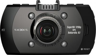 Автомобильный видеорегистратор TeXet DVR-561G - фронтальный вид