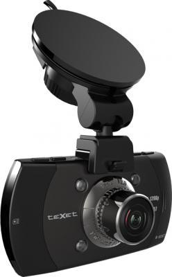 Автомобильный видеорегистратор TeXet DVR-561G - общий вид с креплением